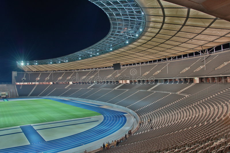 berlin olympic stadion royaltyfri fotografi