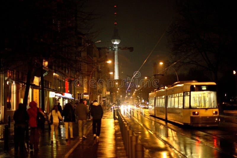 berlin oranienburgerstrasse arkivbild