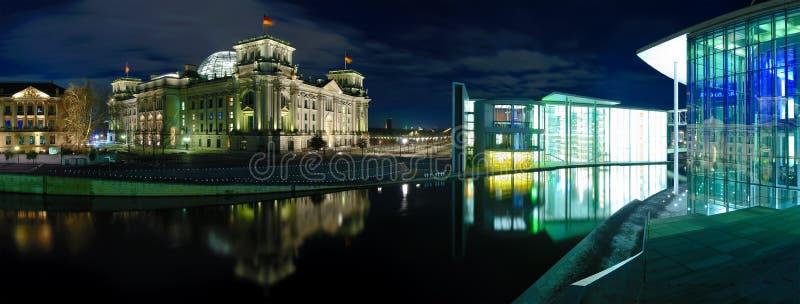 Berlin-Panorama lizenzfreie stockbilder