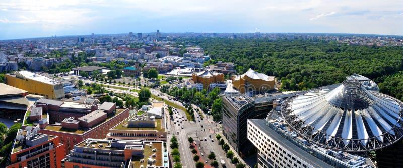 Berlin Panorama Germany foto de archivo