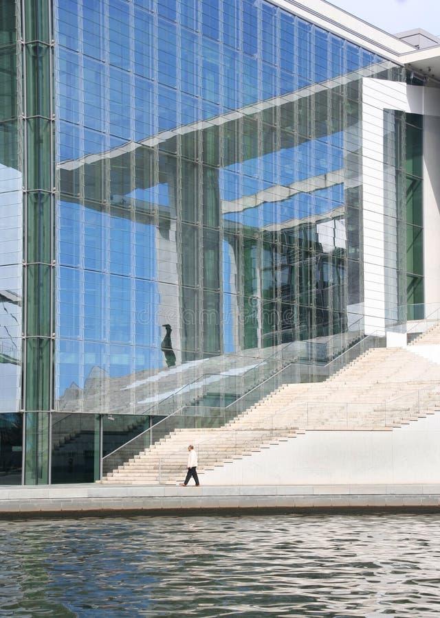 Berlin-Parlaments-Gebäude Stockbild