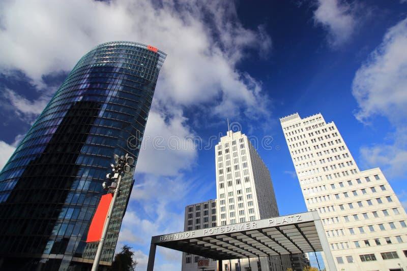 berlin platz potsdamer obrazy royalty free