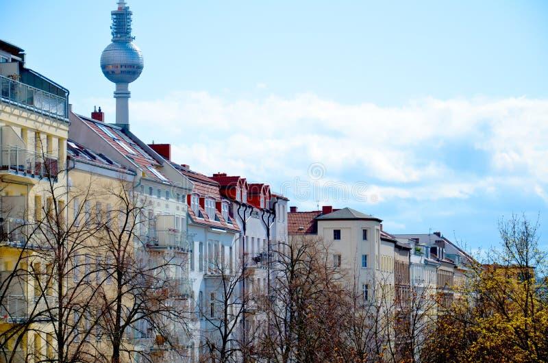 Berlin Prenzlauer Berg, Alemanha fotografia de stock