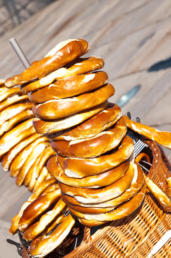Free Berlin Pretzels Royalty Free Stock Photography - 16677737