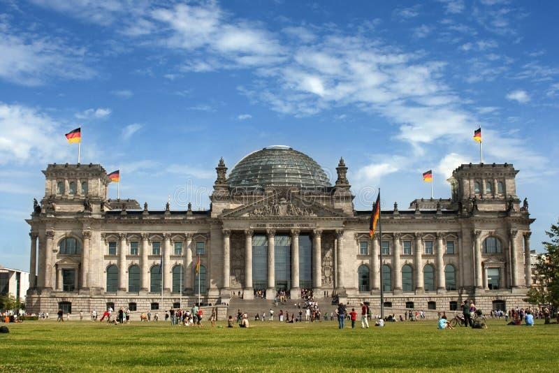 berlin reichstag royaltyfri foto