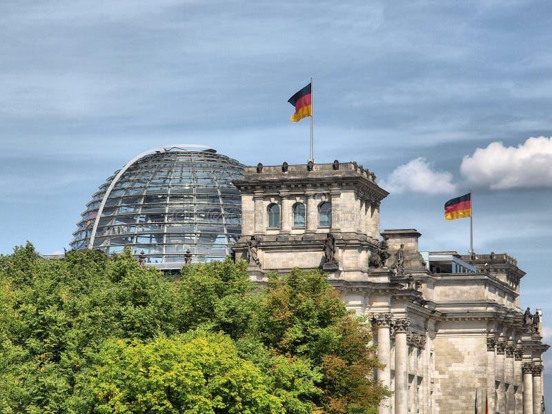 berlin reichstag obraz royalty free