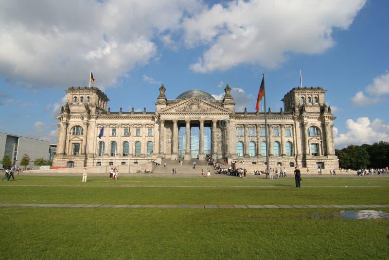 berlin reichstag royaltyfri fotografi