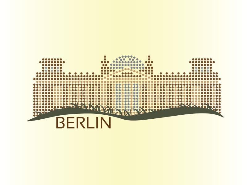 Berlin - Reichstag vektor abbildung