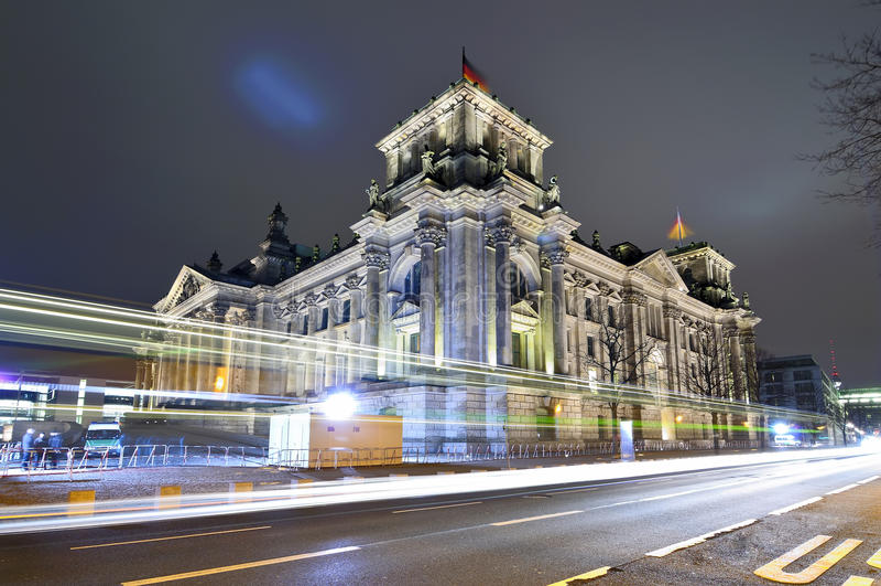 berlin reichstag Germany zdjęcia royalty free