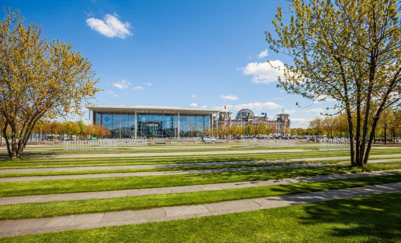 Berlin Reichstag, Paul Loebe Haus foto de archivo libre de regalías