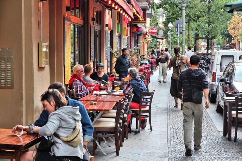 Berlin-Restaurants stockfotos