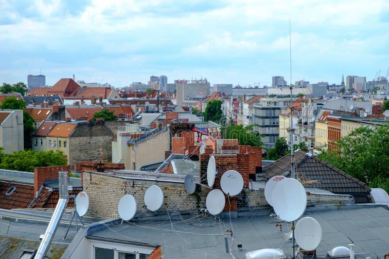 Berlin Rooftops immagine stock