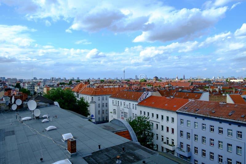 Berlin Rooftops immagini stock libere da diritti