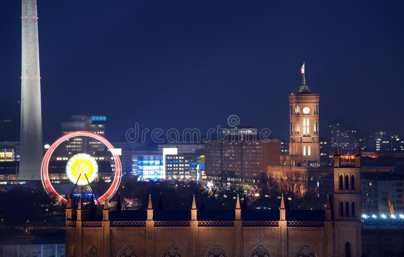 Berlin rotes rathaus townhall stockfoto