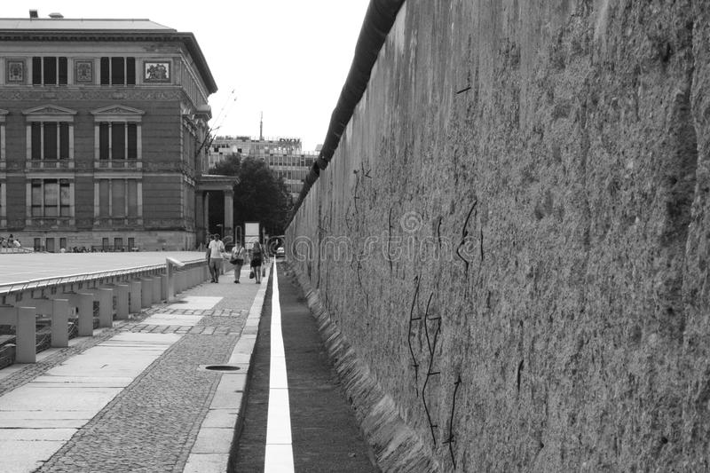 Berlin's Wall stock images