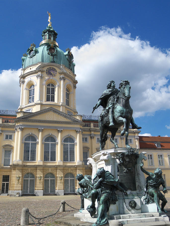 Download Berlin Schloss Charlottenburg Palace Germany Stock Image - Image of sunny, picture: 33017723