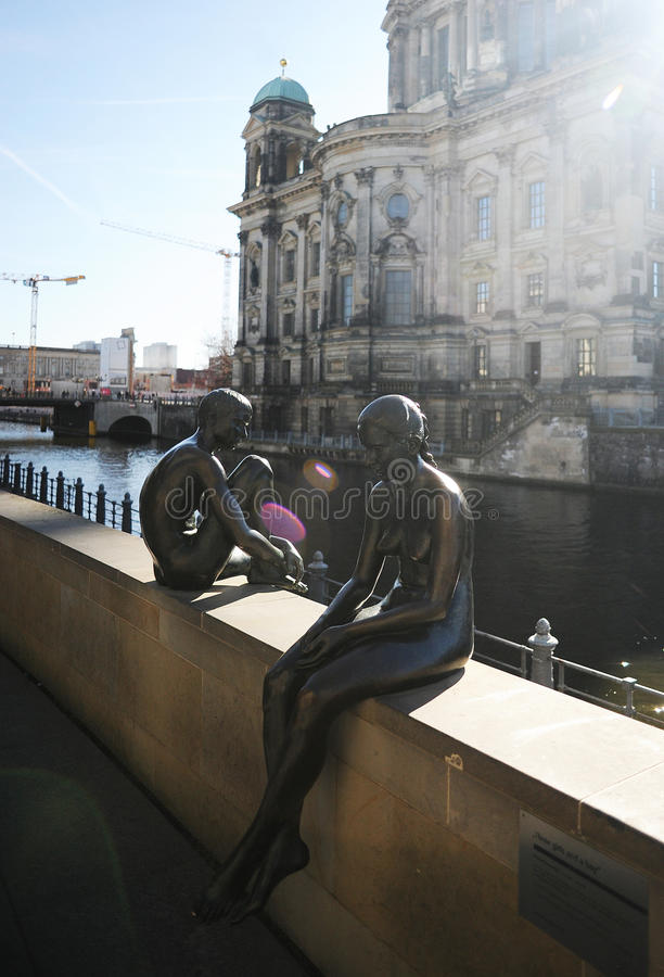 Download The Berlin Sculptures In Sun Beams Editorial Photo - Image of central, neptune: 39512601