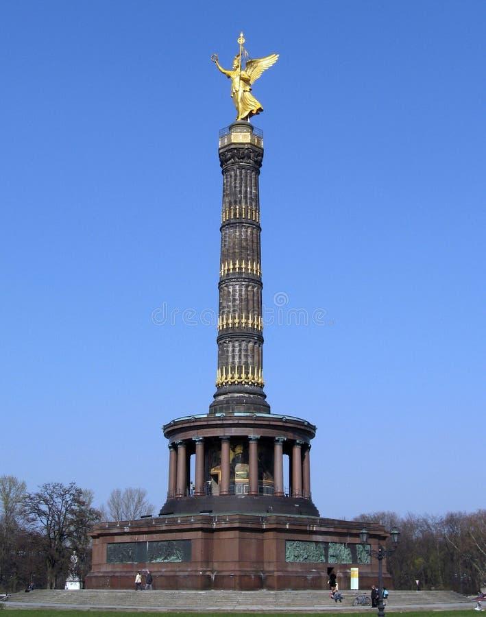berlin siegessaule royaltyfria foton