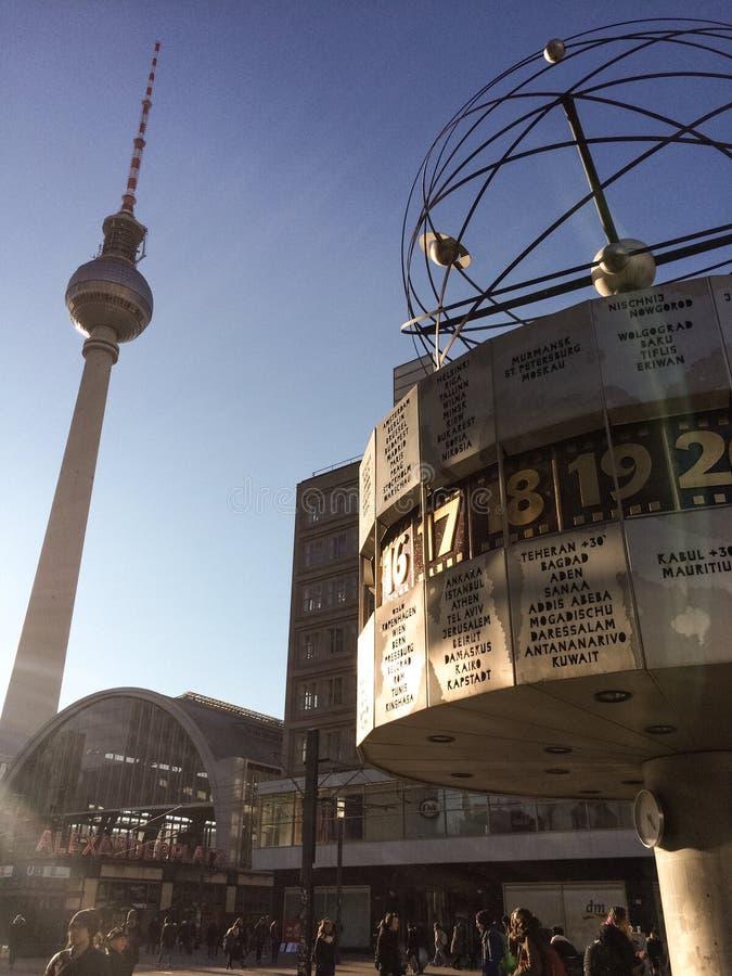 Berlin sightsee arkivfoto