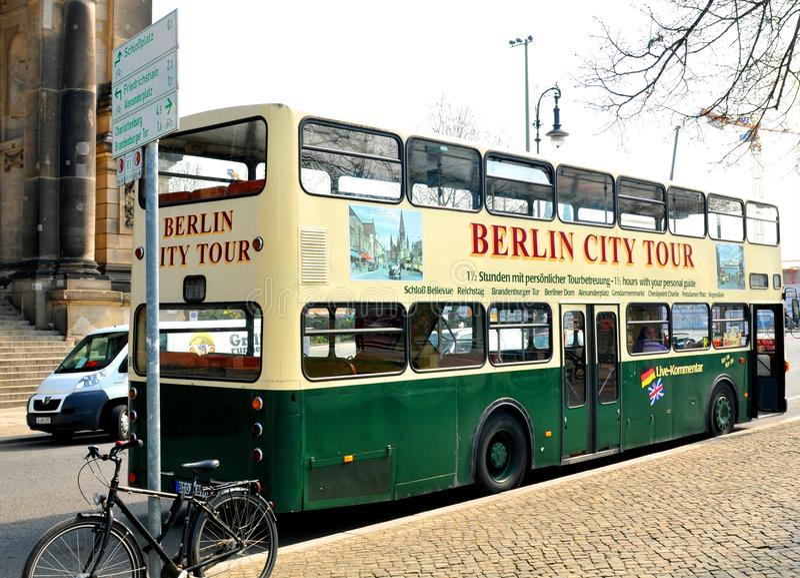 Berlin sightseeing stock photos