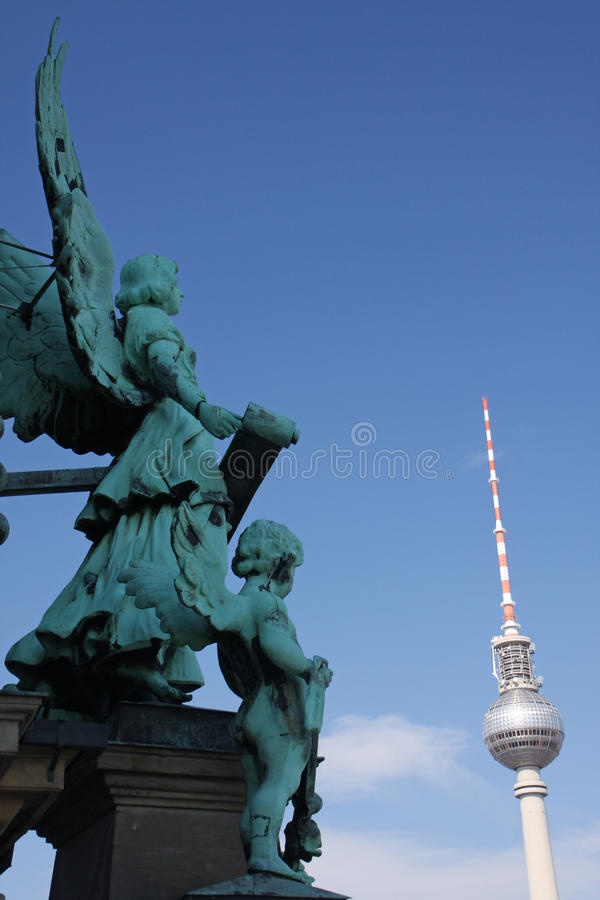 Download Berlin sky stock photo. Image of angel, city, town, scenic - 25557032