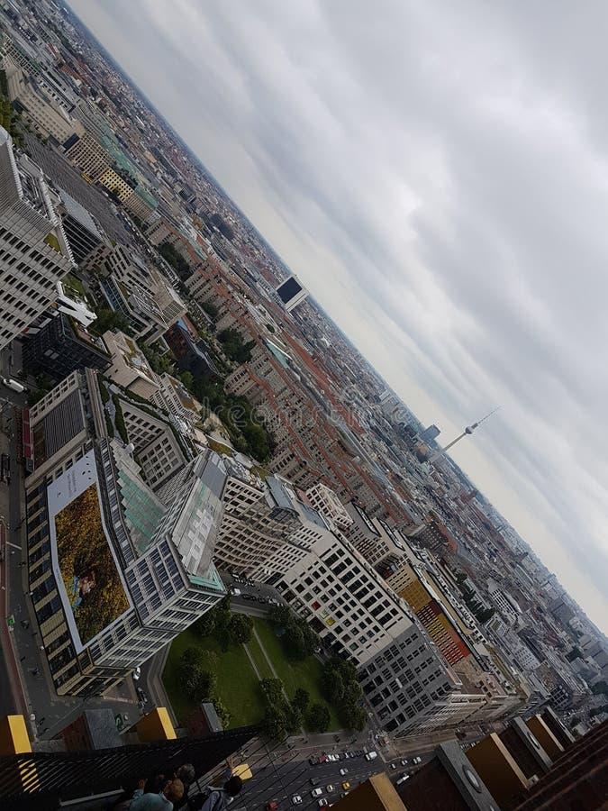 Berlin Skyline lizenzfreie stockfotos