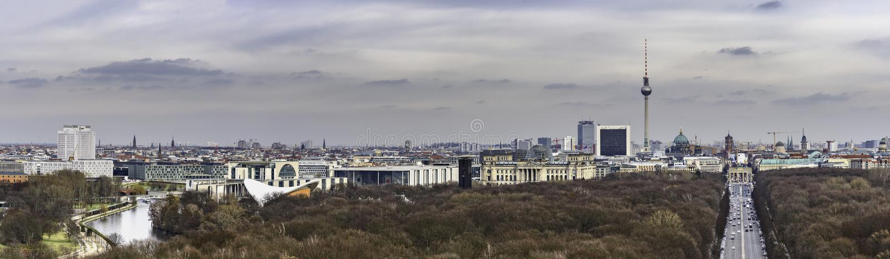 Berlin Skyline Germany royalty-vrije stock foto