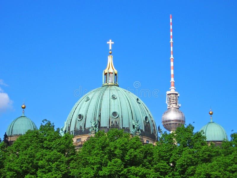 Berlin Skyscape imagens de stock