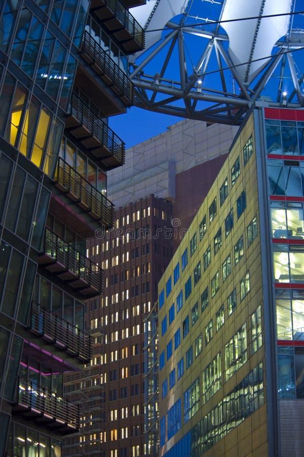 Berlin-Sony zentrieren stockfotos