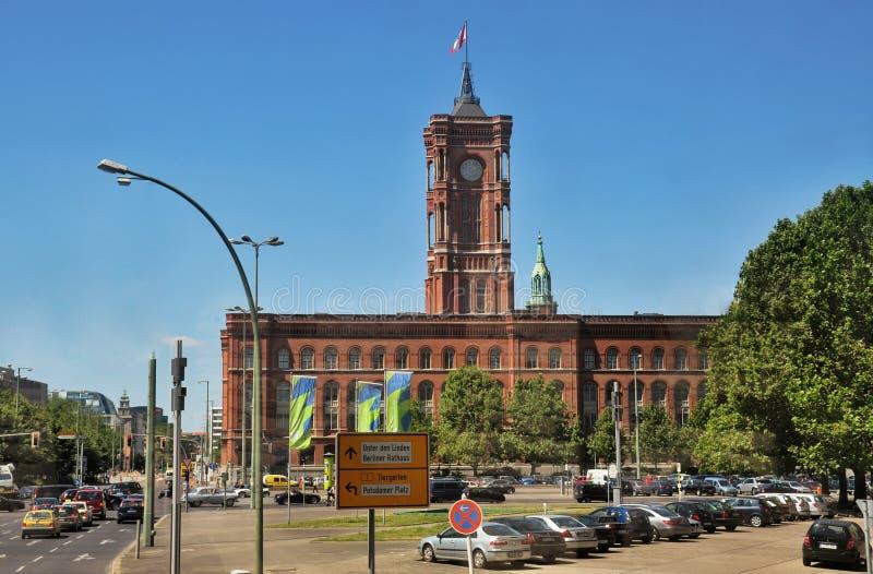 Berlin stadshus, Tyskland royaltyfri foto