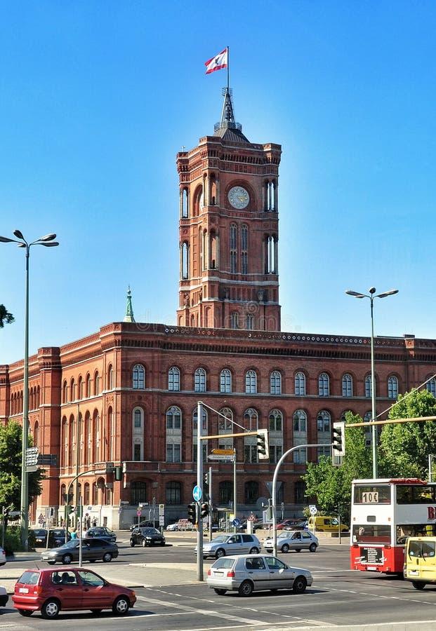 Berlin stadshus, Tyskland royaltyfria foton