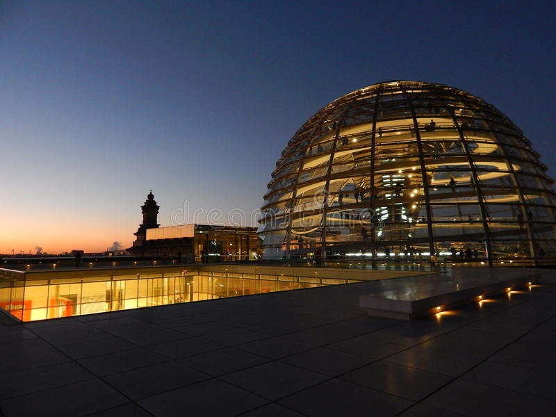Berlin stadsscape royaltyfria bilder