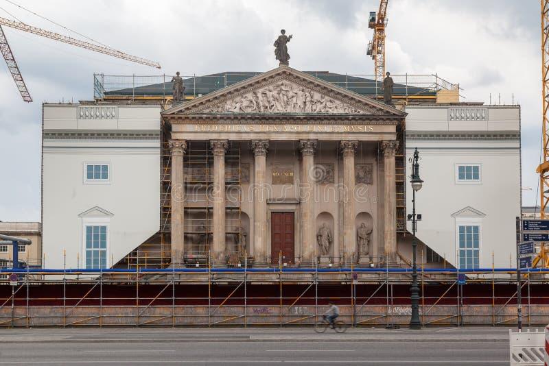 Berlin State Opera imagen de archivo libre de regalías