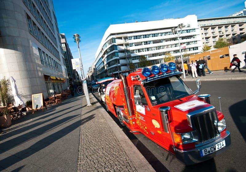 Berlin-Straßenbild stockbild