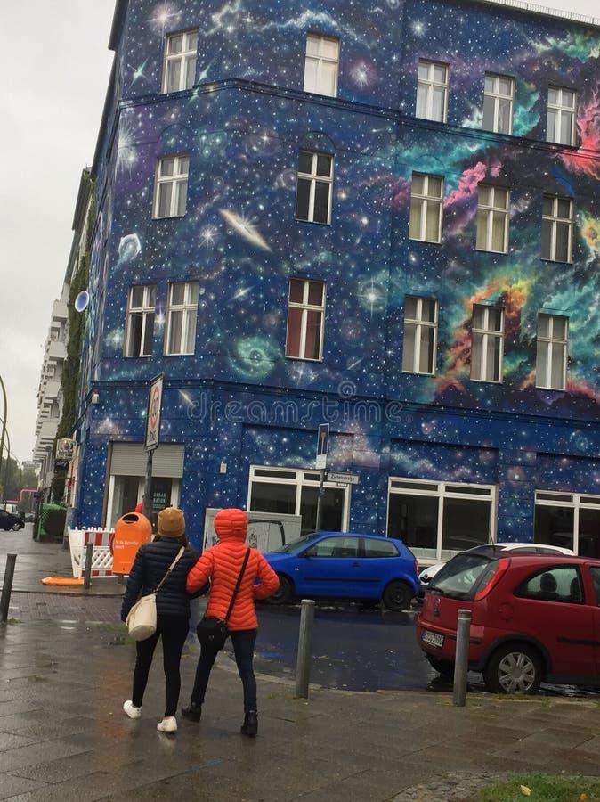 Berlin Street fotografia stock libera da diritti