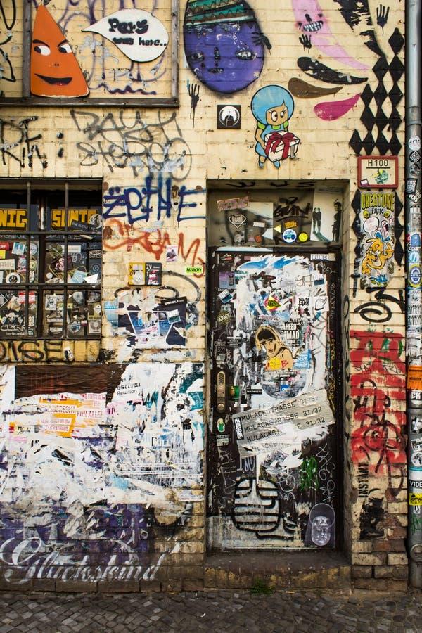 Berlin Streetart stockfoto