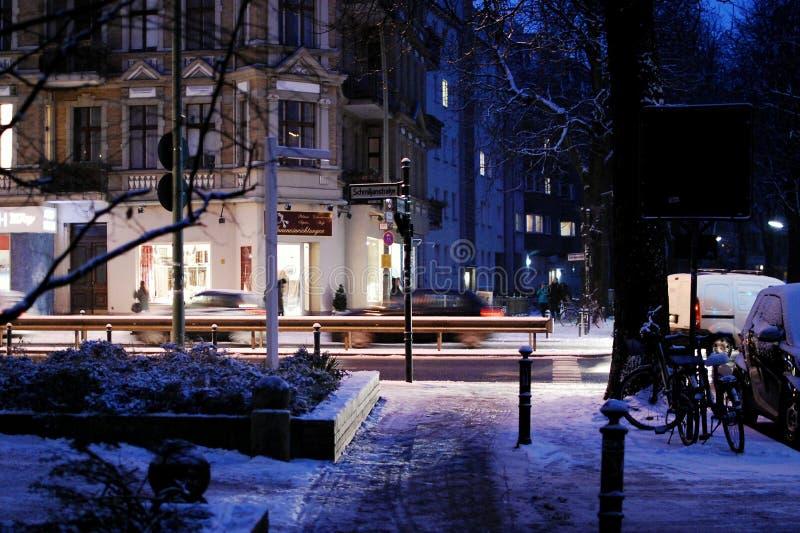 Berlin Streets fotografia stock libera da diritti