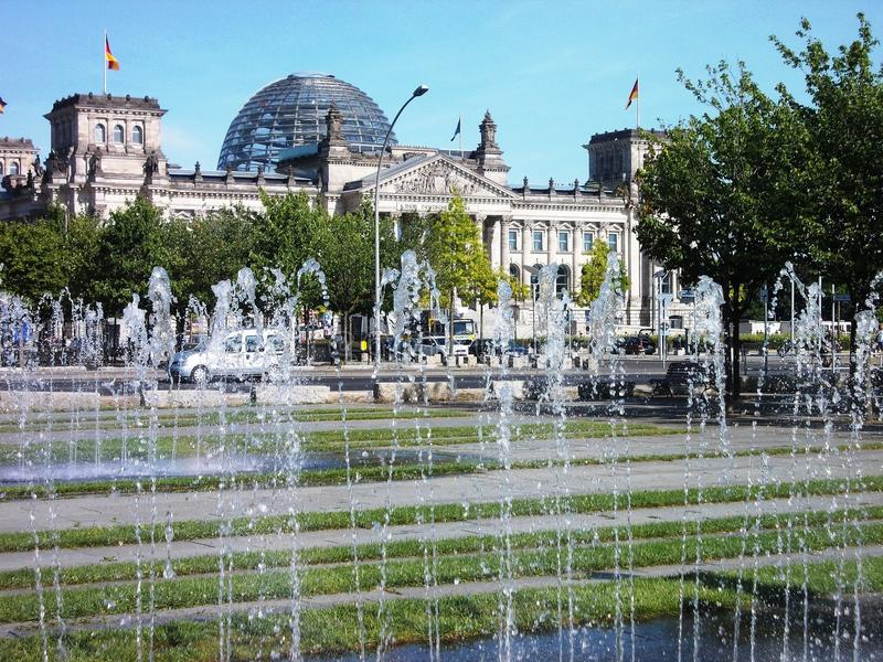 Berlin in Summer royalty free stock photo