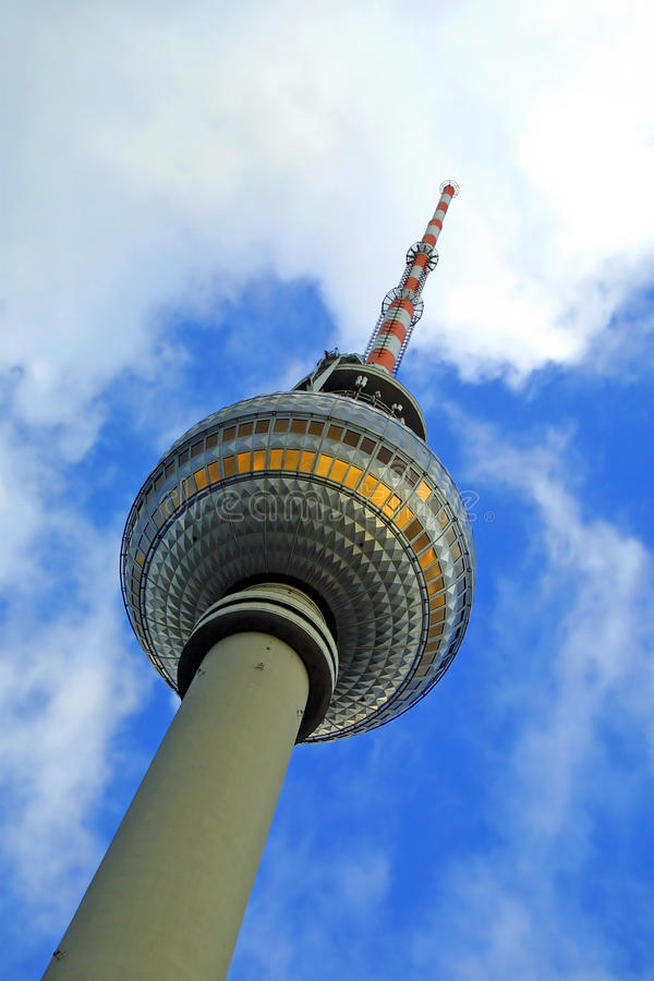 Berlin Television Tower stock images