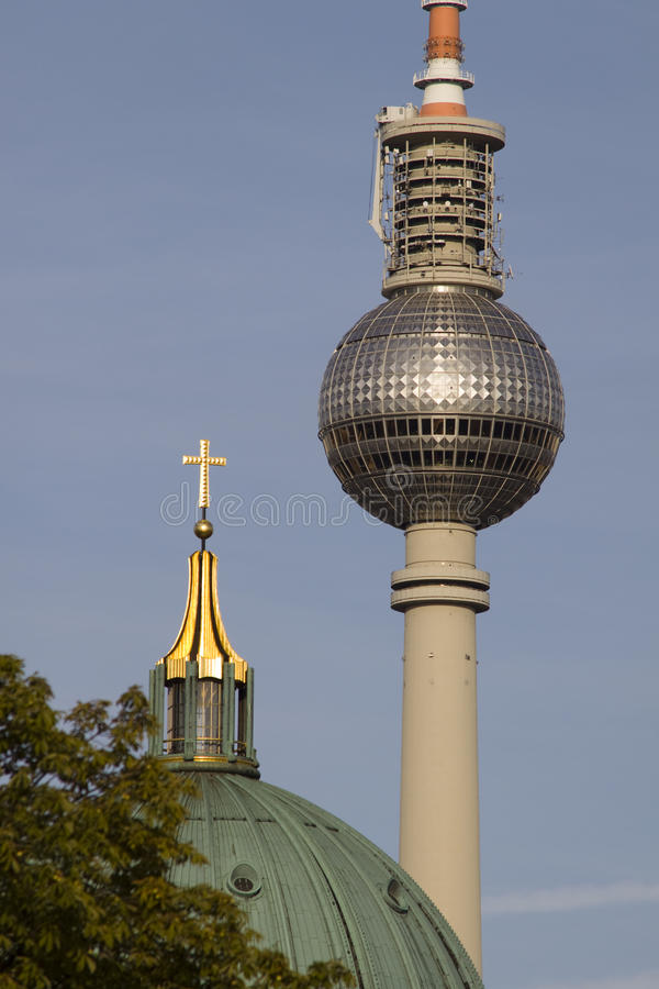 Berlin Television Tower photographie stock