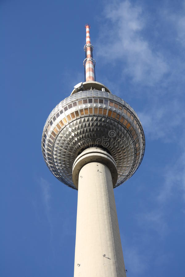 Berlin Television Tower - Fernsehturm Royalty Free Stock Image