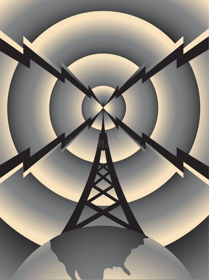 berlin torn vektor illustrationer