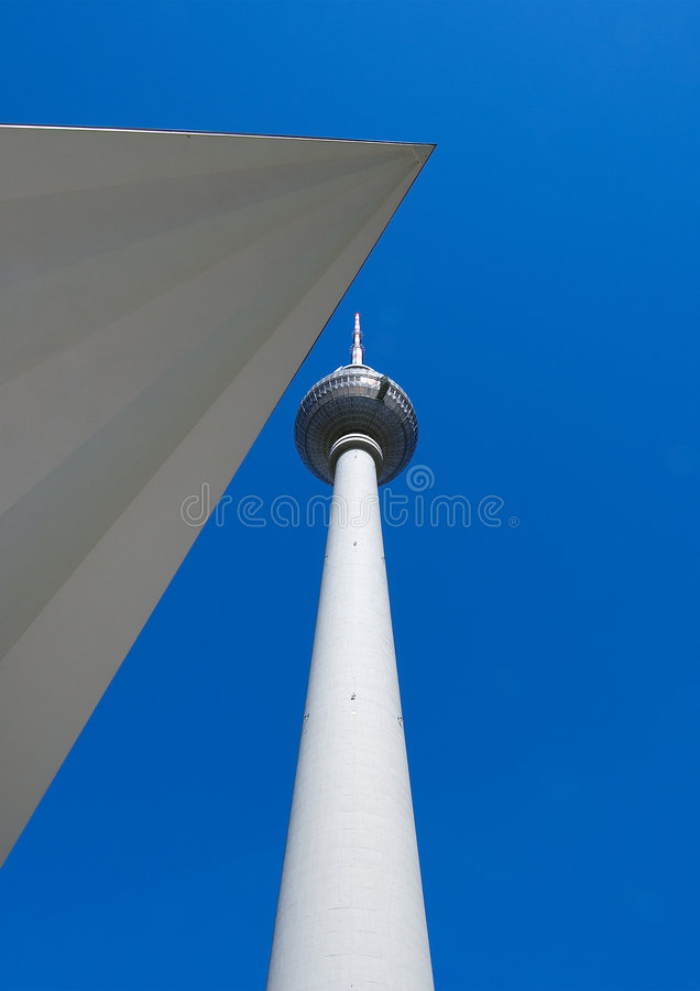berlin torntv royaltyfri fotografi