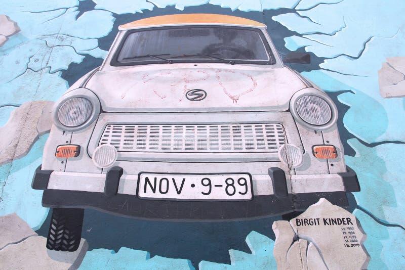Berlin Trabant stock photo