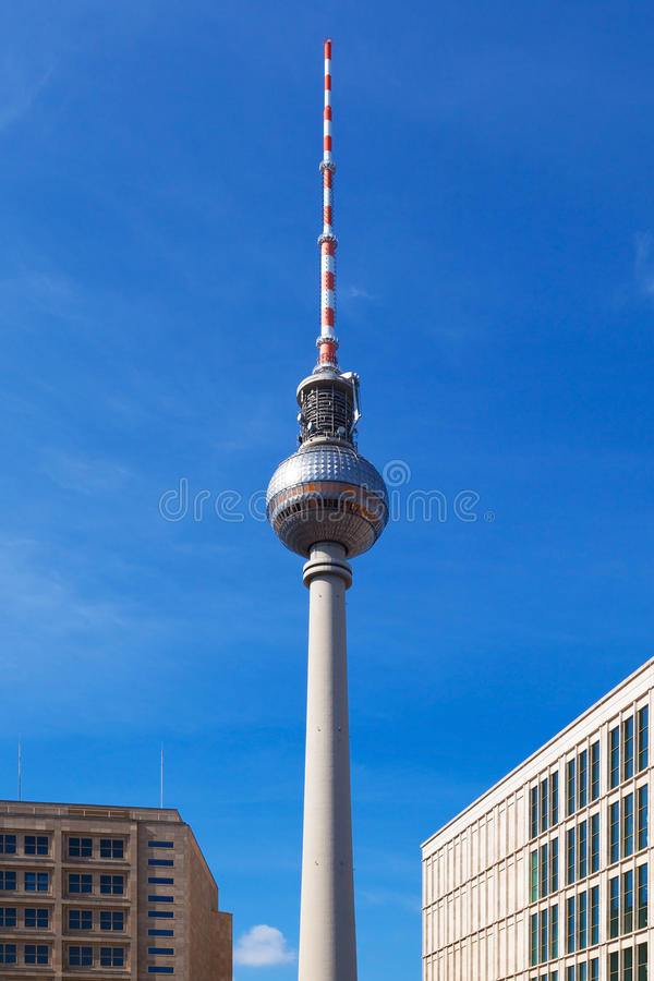Berlin TV Tower Royalty Free Stock Photo