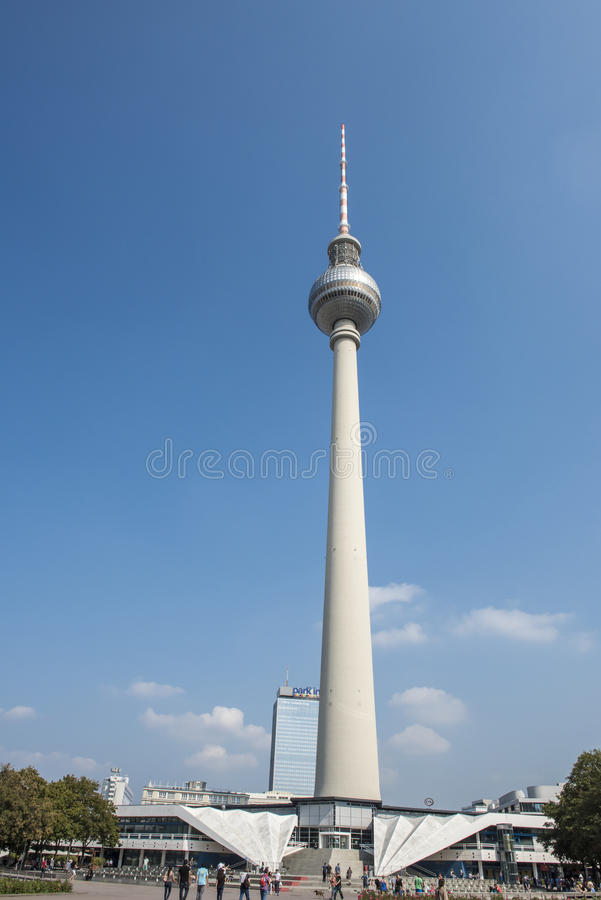 Berlin - TV Tower royalty free stock photography