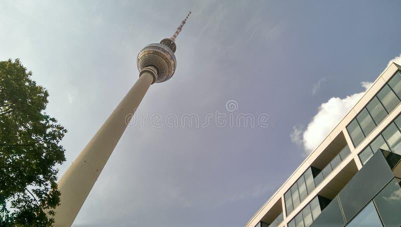 Berlin TV wierza zdjęcia royalty free
