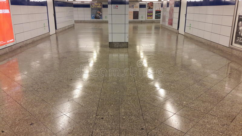 Berlin underground stock photos