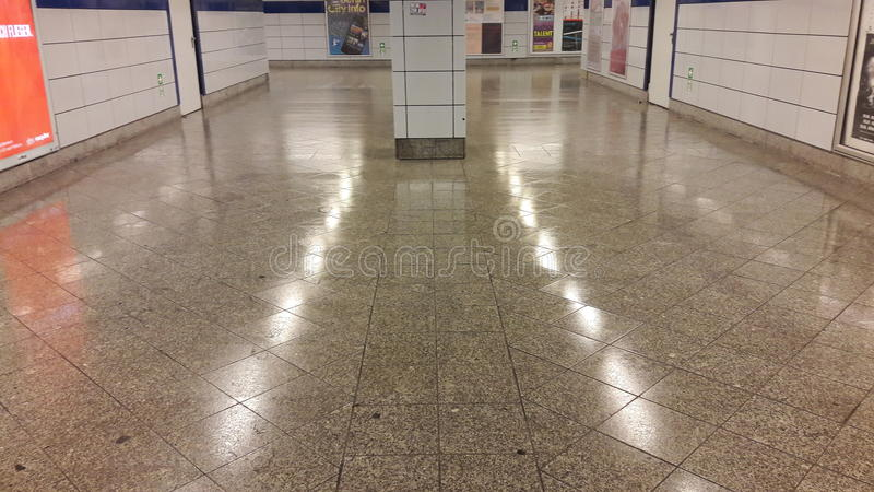 Berlin underground stock photography