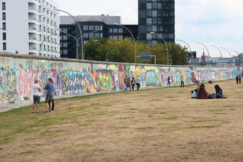 berlin vägg royaltyfri bild